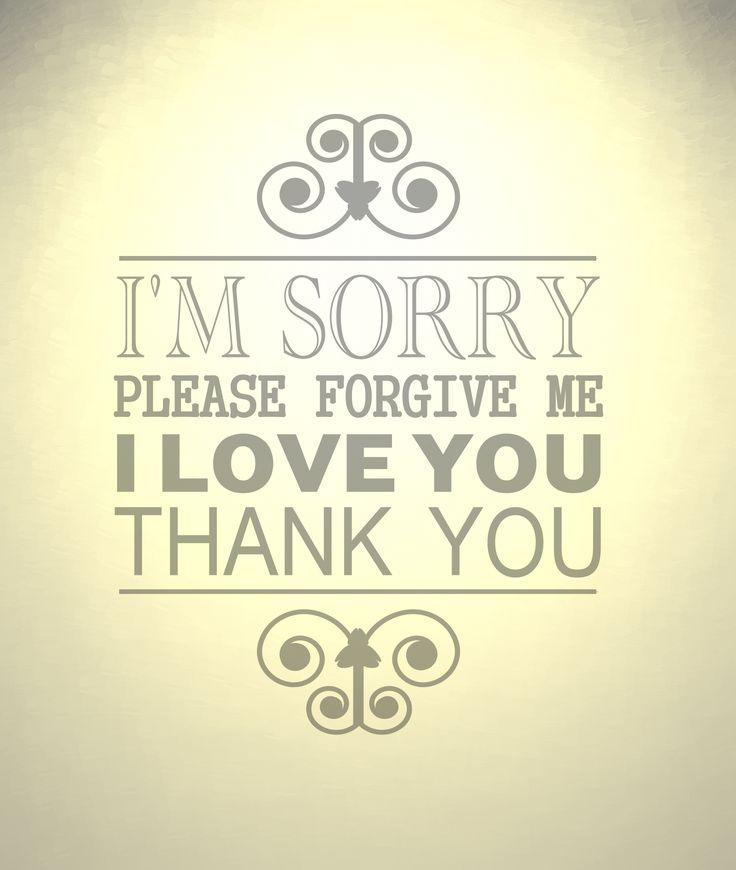 HO'OPONOPONO - Sajnálom. Kérlek, bocsáss meg! Szeretlek. Köszönöm.
