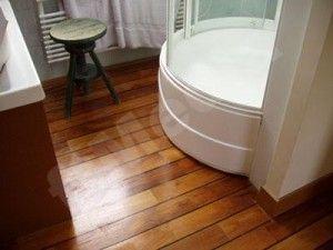 Wood Flooring, Love The Dark Rich Color :). Dark Bamboo FlooringWood  FlooringBathroom ...