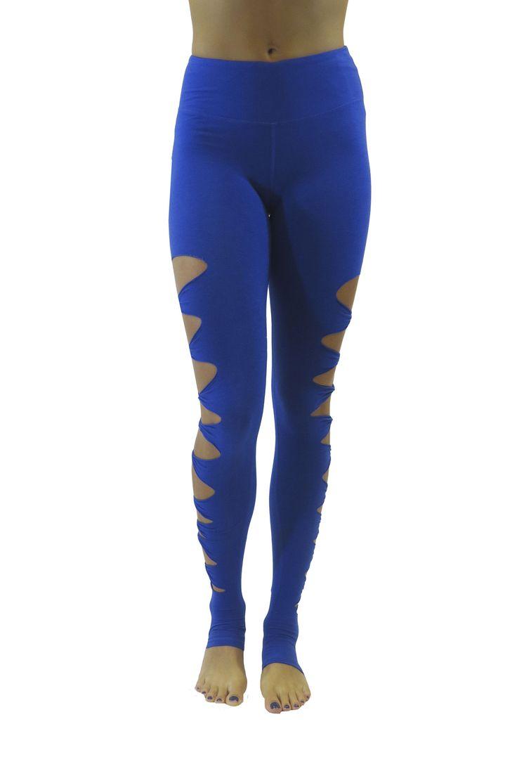 The Acro Bamboo Legging/Royal Blue