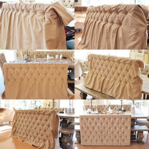 diy tufted king size headboard   490 best Home decor/Headboards and bedroom accessories ...