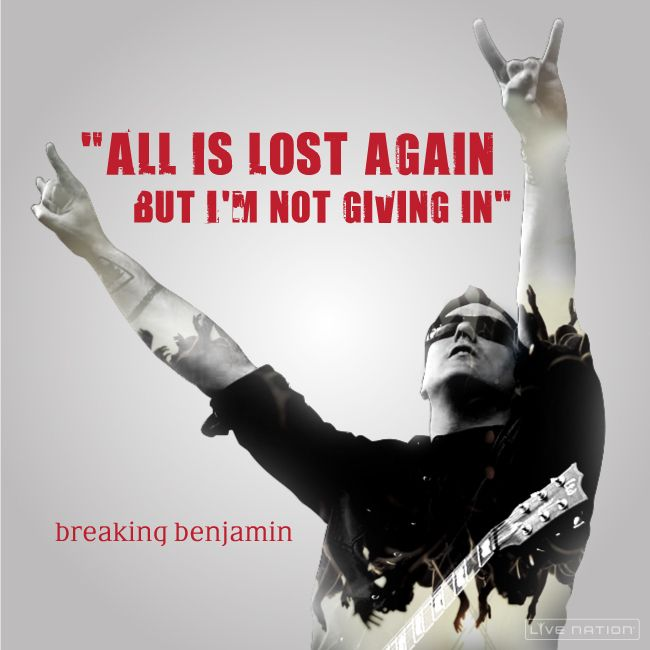See Breaking Benjamin with Disturbed in your city.