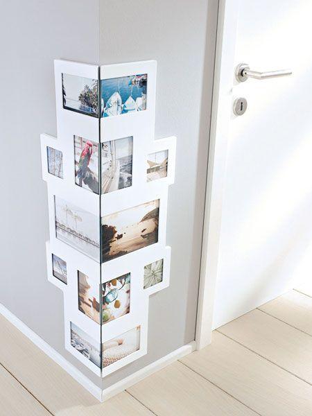 Einrichtungsideen für den Flur: Fotos ums Eck, DIY