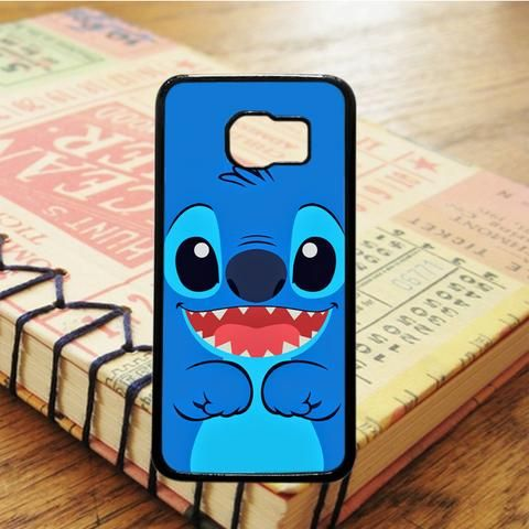 Lilo And Stitch Cartoon Blue Samsung Galaxy S7 Edge Case