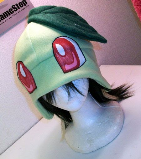 pokemon hats #diy just a thought maybe I can make a hat like this,, #likethisyolikethis forreal tho this is the cutest #pokemon