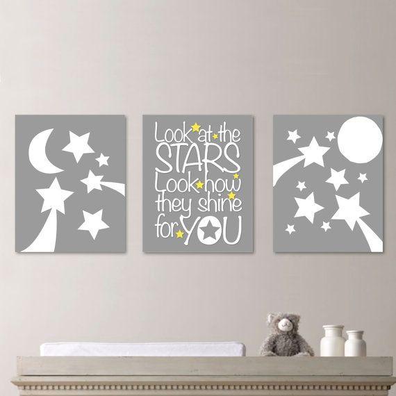 Sam Moon Home Decor: Stars Moon Nursery Decor