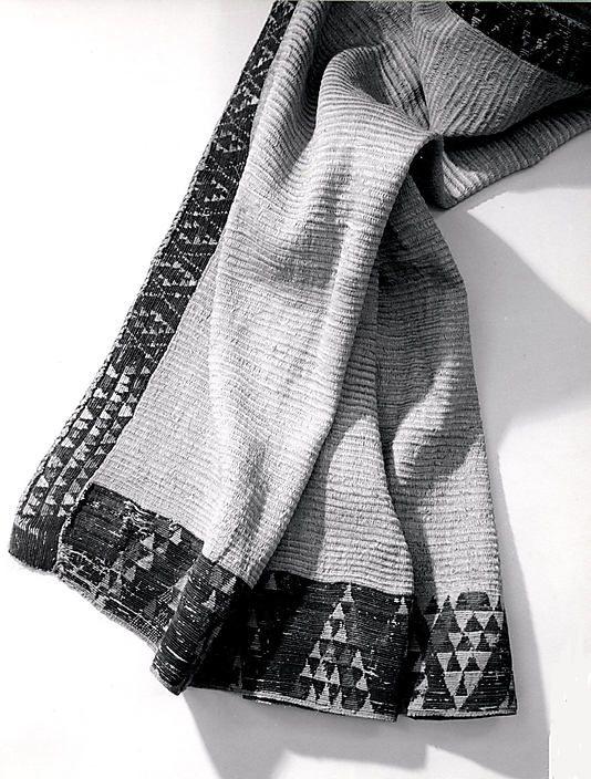 Maori cloak, 19th century  Flax, wool, fiber  Metropolitan Museum of Art