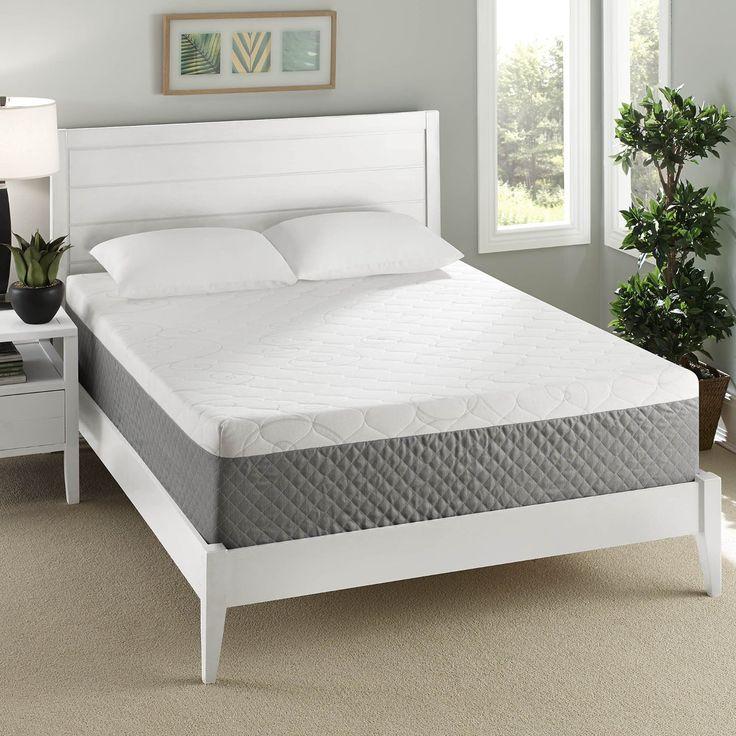 26 Off On Sleep Innovations 12 Inch Gel Swirl Memory Foam Mattress King