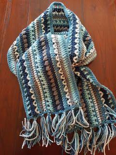 angel-eye's haakseltjes: sjaals gehaakt