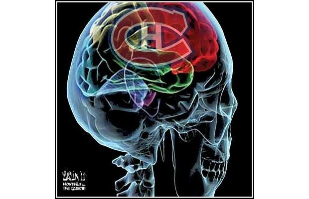 Habs on the brain.