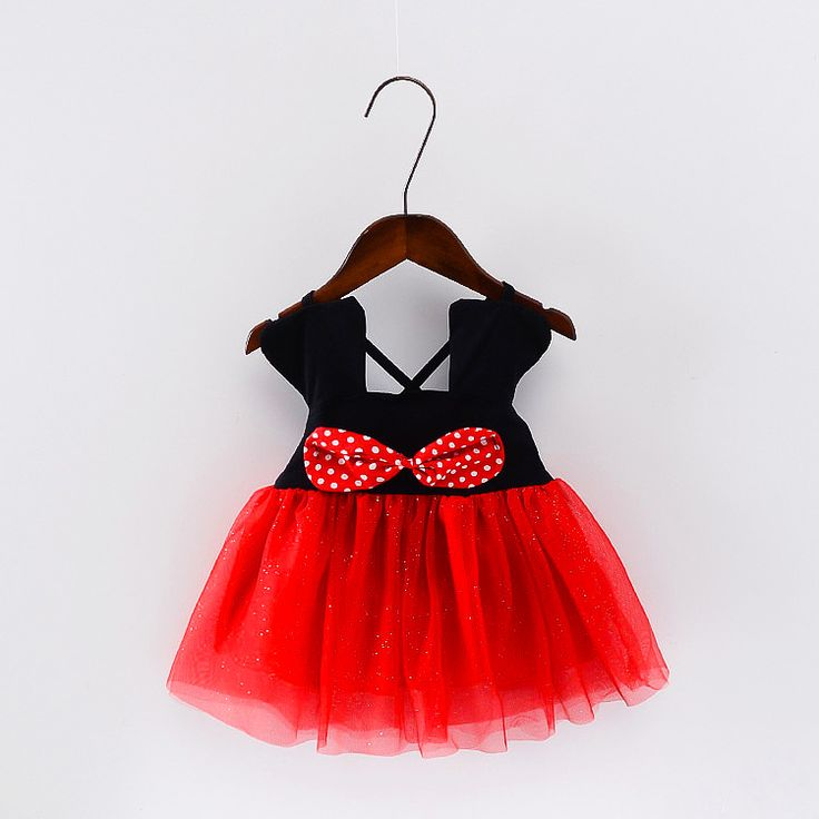 >> Click to Buy << Minnie Mouse Girls Summer Dress Fashion Red White Baby Girl Princess Clothes Kids Dresses For Girls Party Birthday Costume 2017 #Affiliate