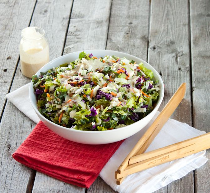 Sunflower Crunch Chopped Salad Remix - Simple Roots