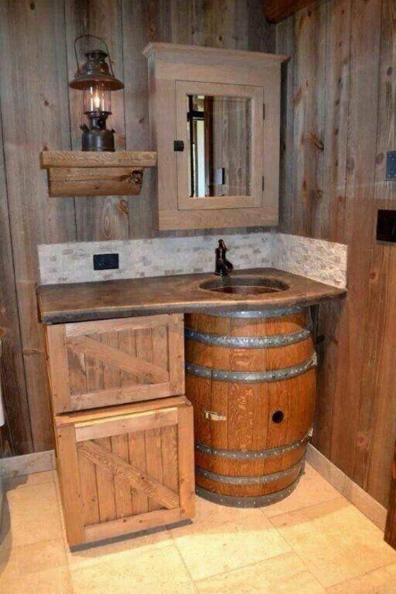 Rustic Bathroom Ideas – Forneça o banheiro em estilo country   – bad