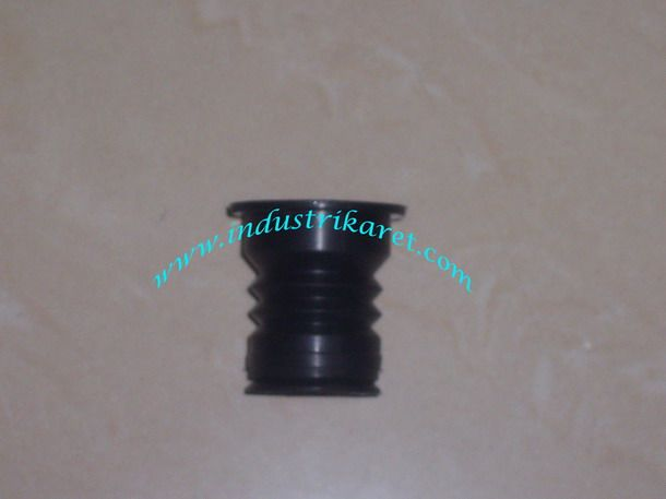 Rubber bellow valve for washing machine