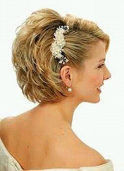 Peinados de pelo corto para bodas
