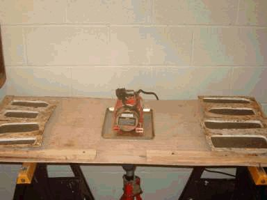 How to make a vibrating table for about $50.00.