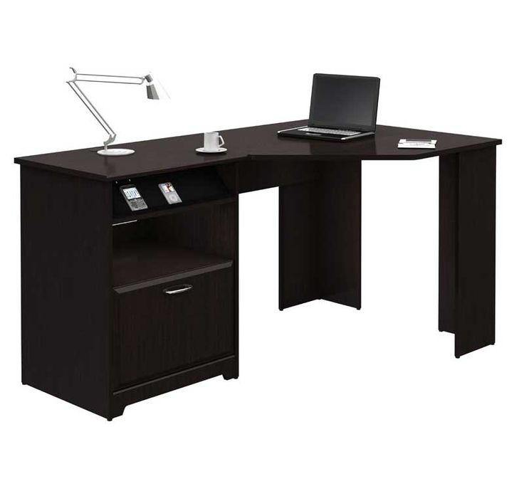 The 60 inch Cabot Collection Corner Computer Desk