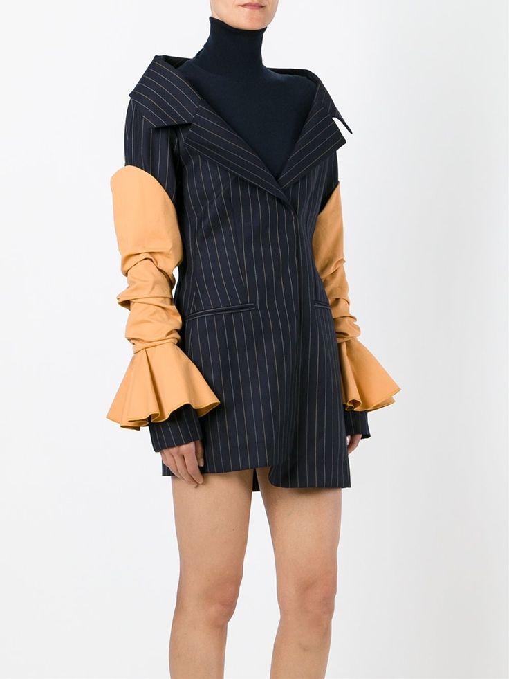 Jacquemus Pinstripe Dress - Browns - Farfetch.com