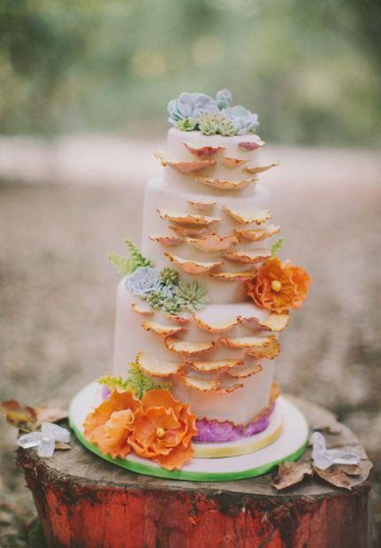 #キノコ #秋 #結婚式 #ウェディング #ウェディングケーキ #ケーキ
