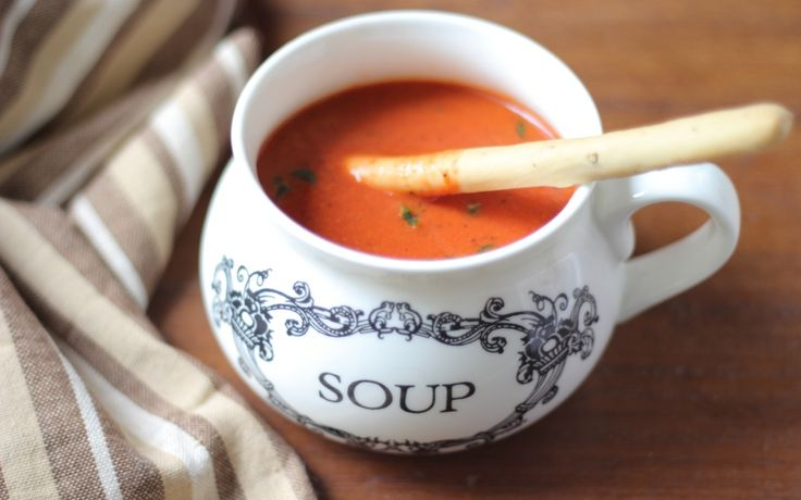 Nothing spells comfort better than the good old Tomato Soup.