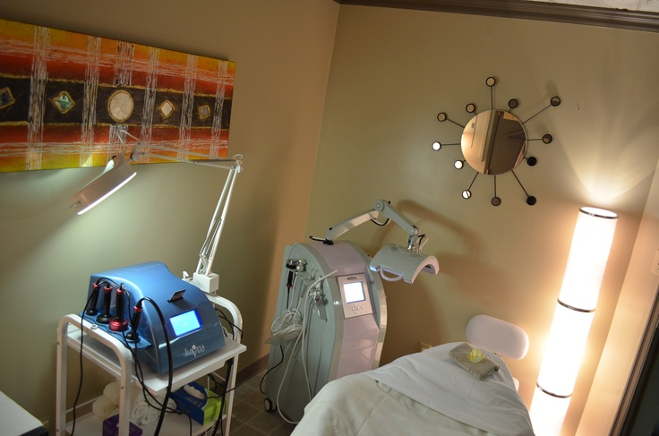 Our treatment room with our machines