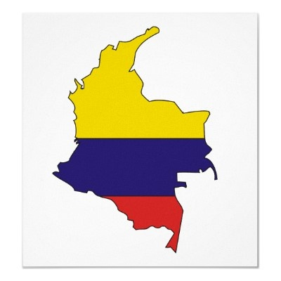 Colombia + flag