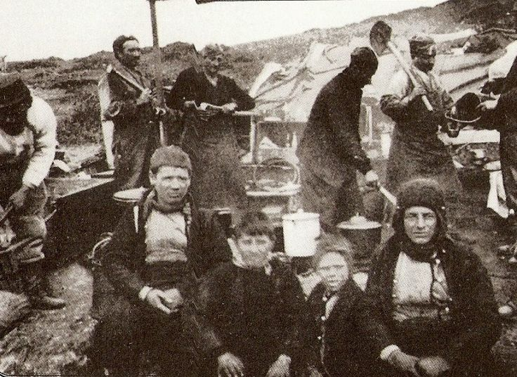 The refugee camp at Salonica, Ambelokipoi 1923