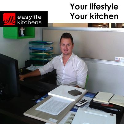 Time to meet the team at Easylife Kitchens George. Our first member is Jaco Sutherland. Read what he has to say by clicking on http://on.fb.me/1hSn64l #easylifeteam #designer #salesteam