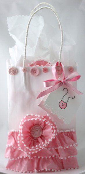 Girly girl gift bag
