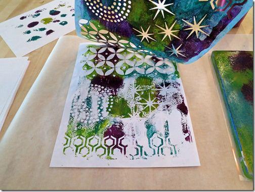 A Gelli Plate Print Tutorial | True Color