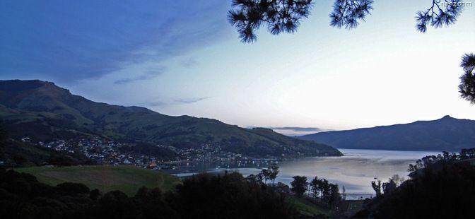 Путешествия по Новой Зеландии » Архив блога » Акароа – уютное местечко на краю земли