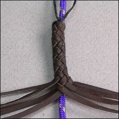 - 8 Strands over a core : Leather Braiding by John