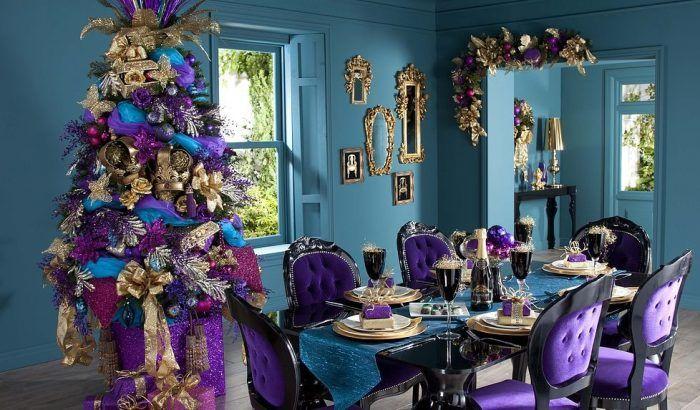 Новогоднее настроение в праздничном интерьере. Галерея фото