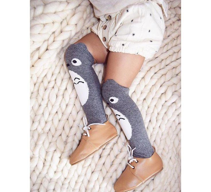 Moma le Shop — Chaussettes montantes Totoro