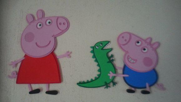 Painel Peppa Pig com George EVA