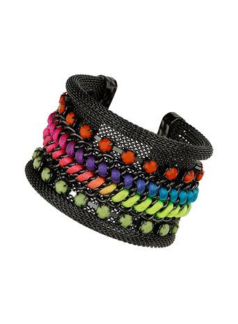 Hedonism Neon Cuff - Bracelets - Jewelry  - Accessories $13 reduced to $4