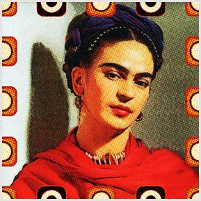 Frida Kahlo 01 - Quadrinhos confeccionados em Azulejo no tamanho 15x15 cm.Tem um ganchinho no verso para fixar na parede. Inspirados em foto da artista mexicana. Para entrar em contato conosco, acesse: www.babadocerto.c...