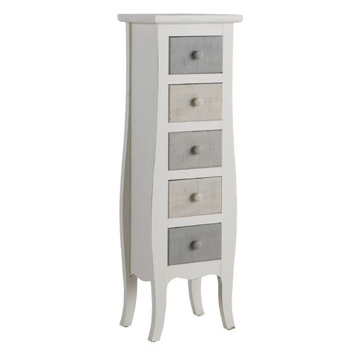 Found it at Wayfair.co.uk - Wooden 5 Drawer Chest
