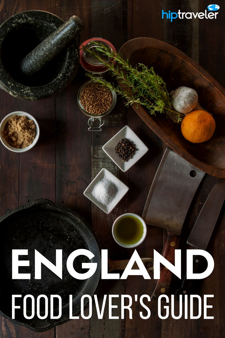 The ultimate guide to eating your way through England. The best British food experiences in the United Kingdom stretching from London to Cornwall to Oxfordshire and beyond. Food travel at its finest. | Blog by HipTraveler
