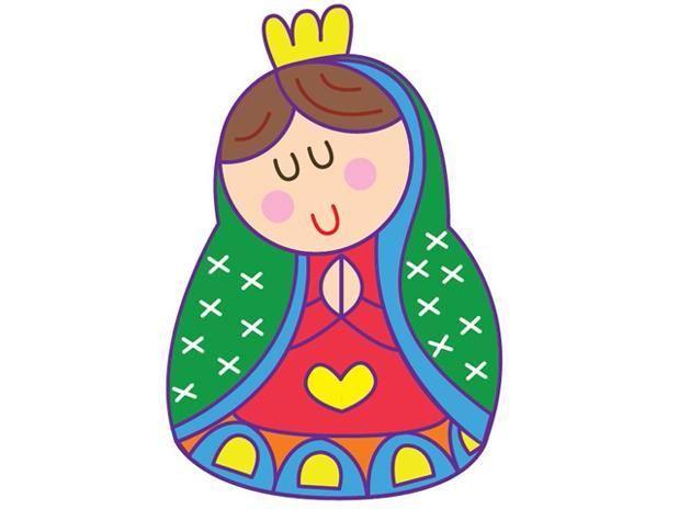 Caricatura – Dia de la Virgen | Imágenes y Videos