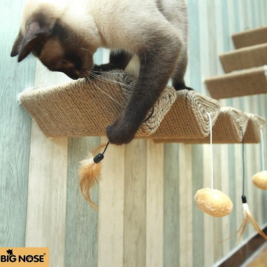 Big Nose Wall-Mounted Cat Scratching Post