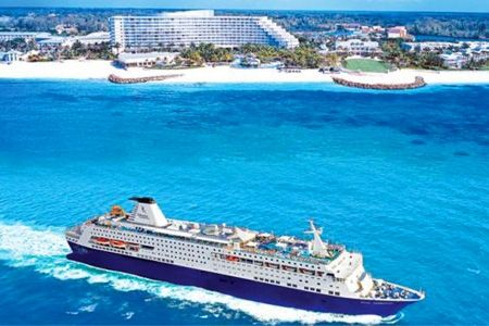 Paga $299000 por pack de vacaciones para máximo 4 personas en Orlando, Daytona Beach, Fort Lauderdale y Las Vegas + crucero por las Bahamas + arriendo de auto con Caribbean Cruise Line™