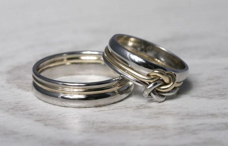 pierścionek zaręczynowy i obrączki w jednym stylu