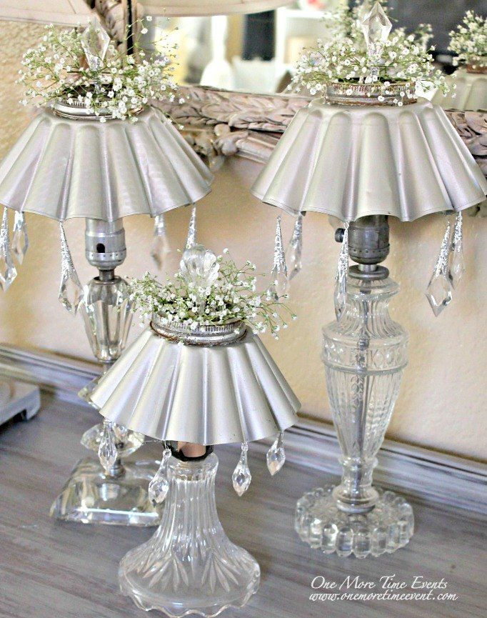 Vintage Lamps Two Different Uses Outdoor Solar Lighting and Home Decor