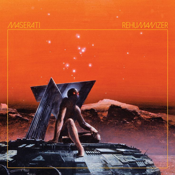 Great album art creates an environment for you to exist while listening - speeding through the mesas of a dead moon in a hover vehicle under an eternal sunset.    In such a situation, I'd put this exact album into my neon retro-future dashboard, because this album is an atmosphere, it is an environment spawned by reverb drenched guitar streams, by the constant thud of the bass, by the rhythm that demands you drive, and not leisurely.