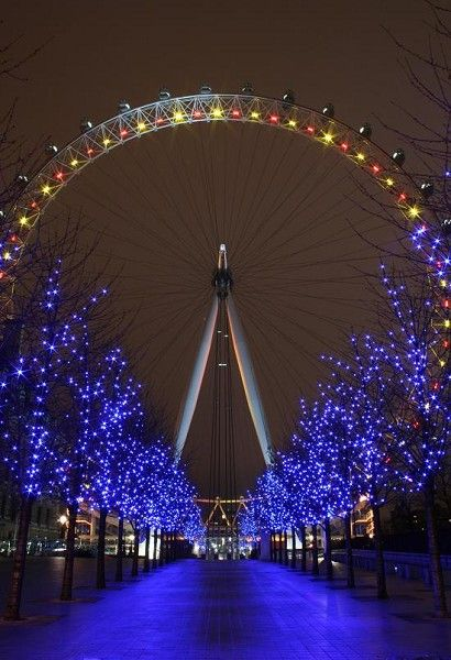 The Eye, LondonLondon Eye, Favorite Places, Places I Want To Visit, Christmas, Places I D, Night Time, England Travel London, London England, Ferris Wheels