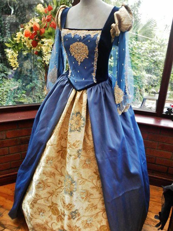 Custom made Medieval gown Anne Bolyne Tudor with by cindysboho