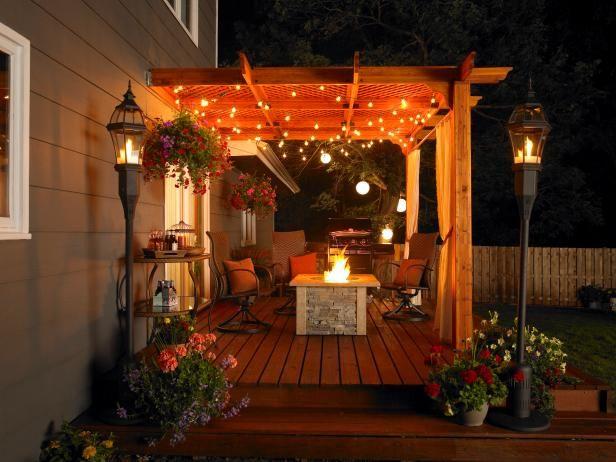 151 best deck ideas images on pinterest | patio ideas, backyard ... - Patio Designs With Pergola