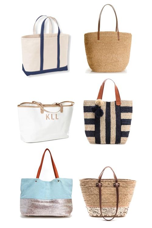 6 bags for beach season.