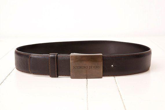 Vintage Iceberg Jeans Belt