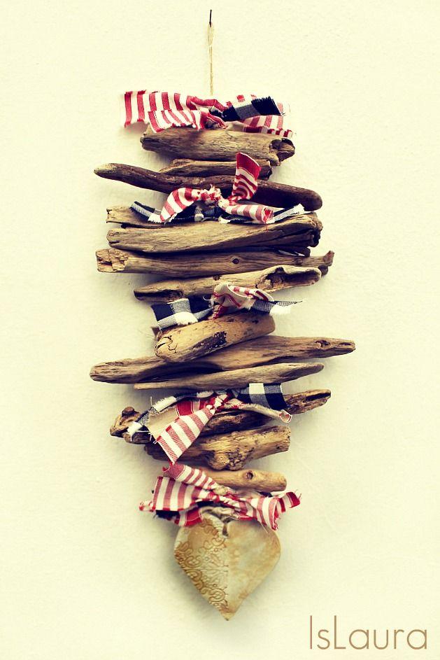 Ghirlanda in legno e #natalefaidame con Dremel : islaura